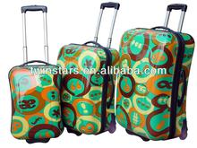 18''/20''/24'' ABS/PC Butterfly Print Suitcase Travel Luggage