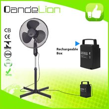 "12"" Energy-efficient latest solar products stand fan l"