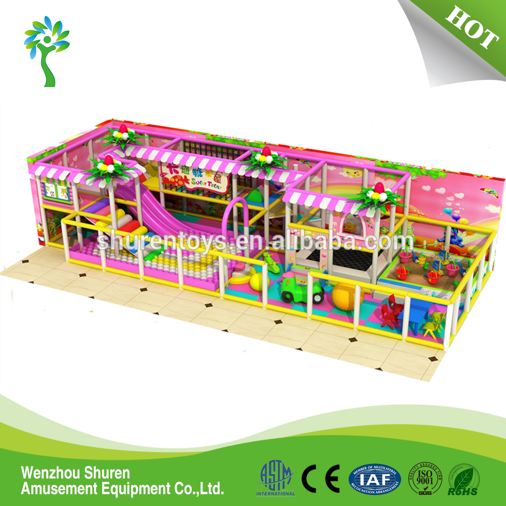 Indoor Children Playground Equipment Small and Cheap Play Games