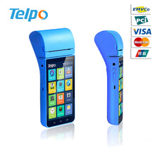 Small portable cash register and Barcode Scanner Terminal with Rfid msr Ic Card Reader