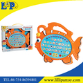 Funny cartoon animal learning machine toy
