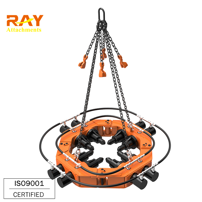 Concrete Pile Head Cutter circular pile breaker machine