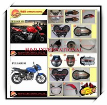 Cheap Bajaj Pulsar motorcycle spare part high quality motorcycle headlight Bajaj Pulsar motorcycle spare part