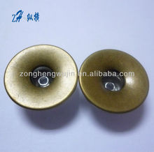 20mm Brass open hole single nail jeans button for garment