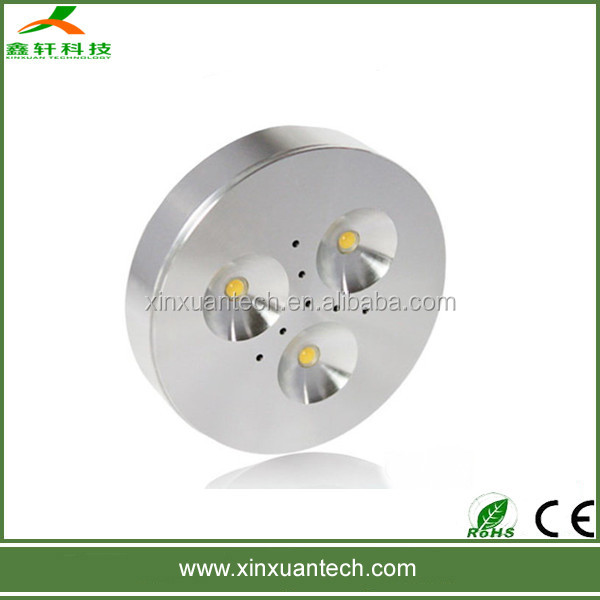 Hot new disign 3w led portable cabinet light fixture