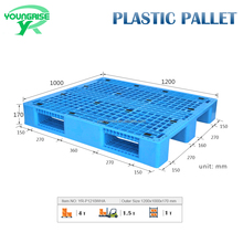 1200*1000*170MM euro hard mixed plastic pallet for sale
