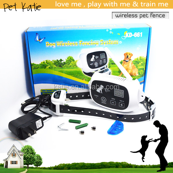 patent brand new 500 meters wireless fence for large dogs