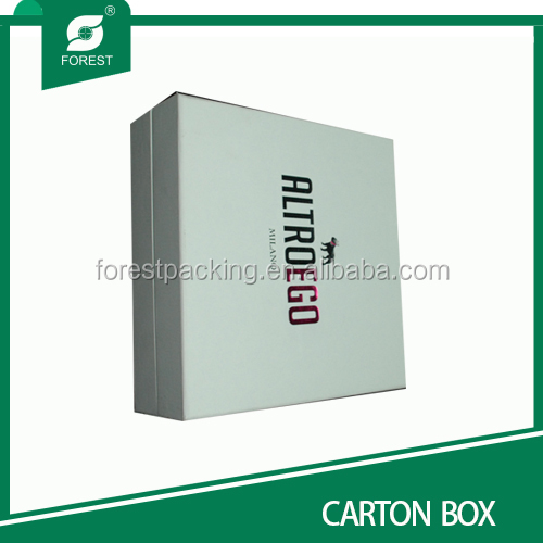 CARDBOARD SHIPPING BOX WITH MAGNET FOR PACKAGING USGE