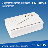 EN50291 battery powered CO alarm for home use