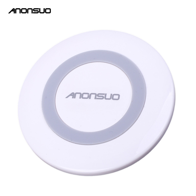 Anonsuo white color qi charger furniture