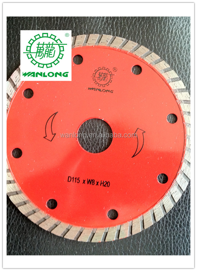 diamond tools of dry cutter with good cutting result 4 diamond blade 5/8 arbor