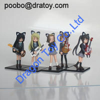3d anime girl figurines