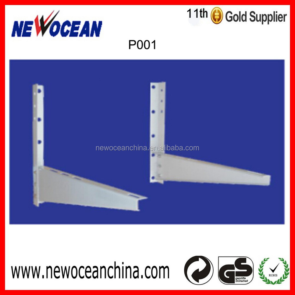 New stype ! P001 200KGS support galvanized plate split ac brackets mini split air conditioner parts