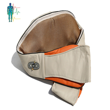Best selling PU leather design vibration massage belt with heat