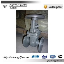 Made in China Russia GOST standard rising stem cuniform disc carbon steel flanged gate valve 30s41nj