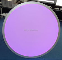 high brightness RGB large LED round panel lighting made in China