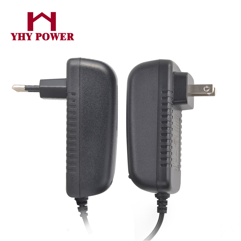 Shenzhen factory 14.4v ac dc adapter SAA Ctick certified wall type dc 1a 1.5a 2a 2.5a charger switching AC 100-120v transformer