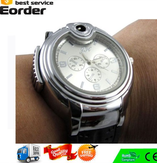 Lighter Manufacturer,Butane Gas Cigarette/Cigar Lighter Refillable Gas Lighter Watch