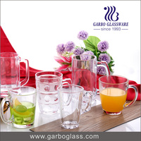 300ml Clear Handle Glass /Drinking glassware printing