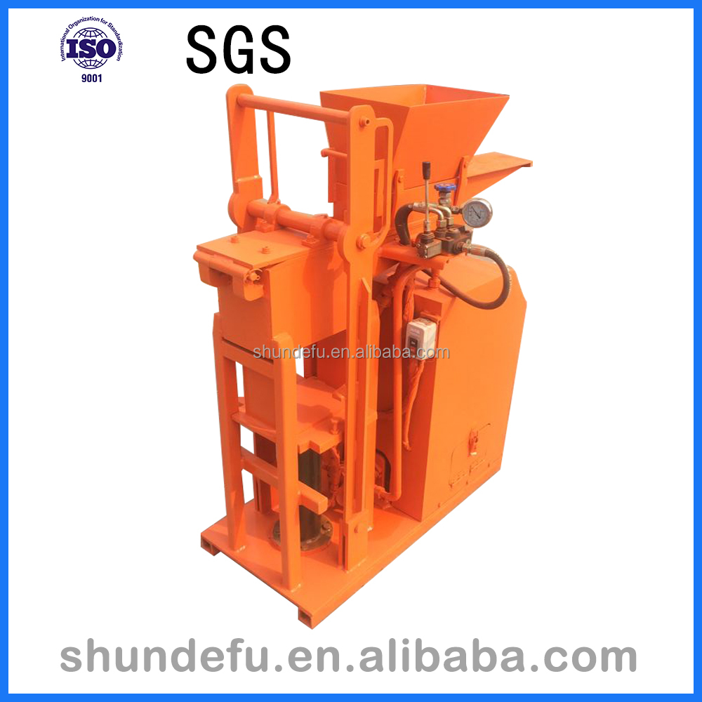 High quality SY1-25 Automatic Hydraform Soil Clay Brick/Block Making Machine