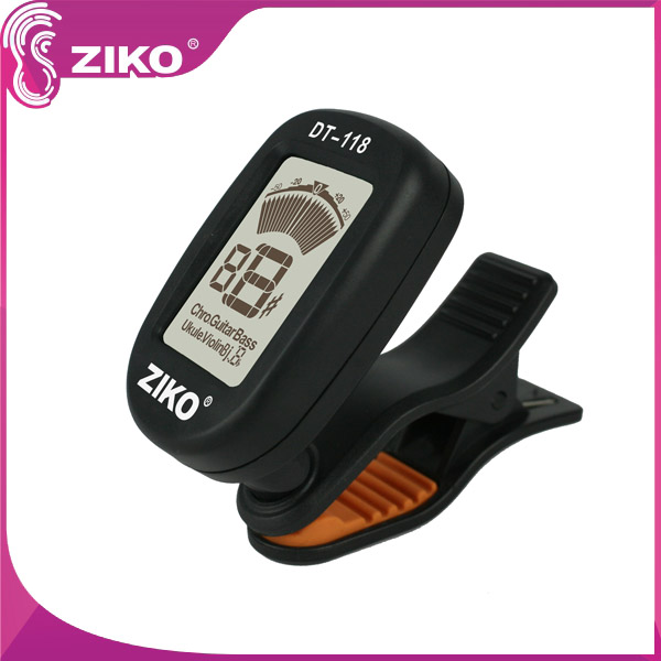 Mini Clip-on LCD Display Guitar Tuner