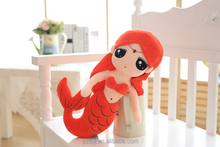 Lovely Mermaid Princess Doll Plush Toy Doll Girl pillow doll