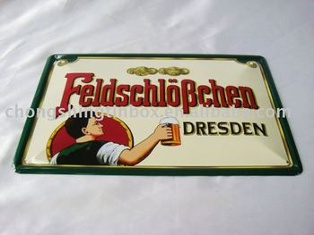 Promotional tin tablet for advertisment