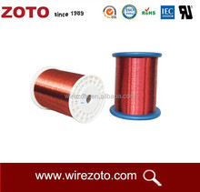 2.24mm two layer polyimide film Sintering line round wire for oil pump