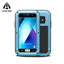 Hot Selling LOVE MEI Shockproof Aluminum Case for Samsung Galaxy A3 / A5 (2017) case