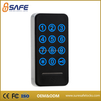 Durable design electronic safety combination locks for gym lockers
