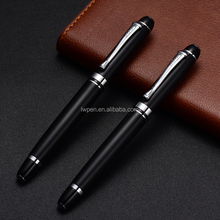 black Roller pens with custom logo pen set with gift box luxury executive pen set