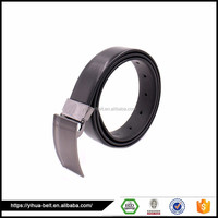 New Arrival Custom Handmade 2 inch black leather belt