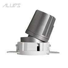 ALUDS guangzhou alibaba china supplier 6w commercial recessed lighting led lighting with independent driver for hotel room,shop
