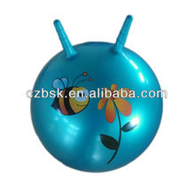 jumping ball/bouncy bll/gym ball with handle