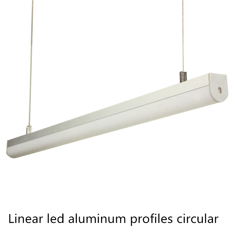 circular led aluminum linear light 2835 120leds led bar light For cabinet kitchen Linear LED Strips Project