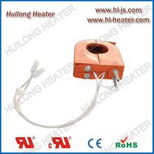 Electric silicone heater semiconductor industry application