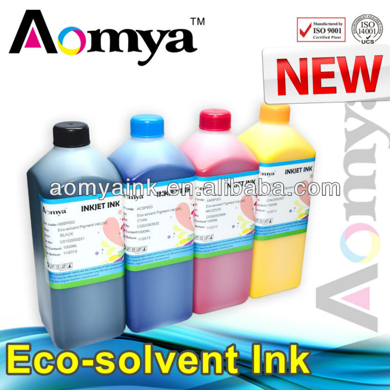 Vivid color Eco solvent based printing ink for mimaki jv3 printer