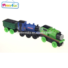 High quality custom color wooden thomas trains toys AT11917