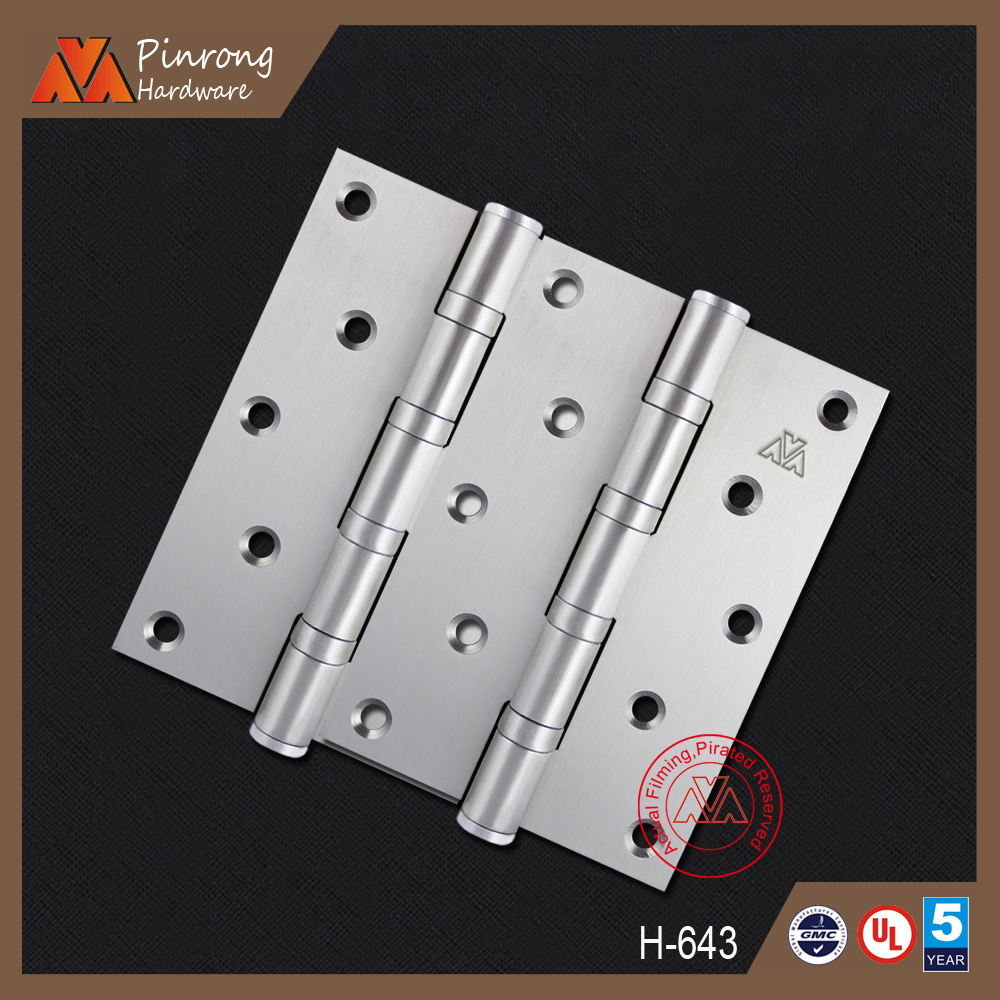 Comfortable new design fire rated door hinges factory