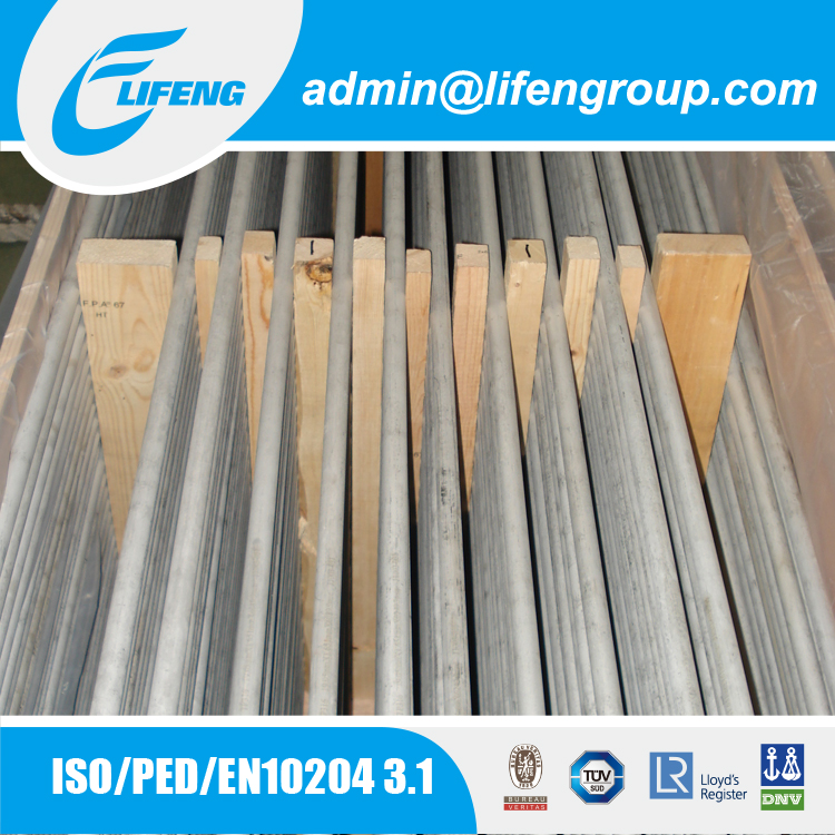 Custom size welded stainless steel pipes