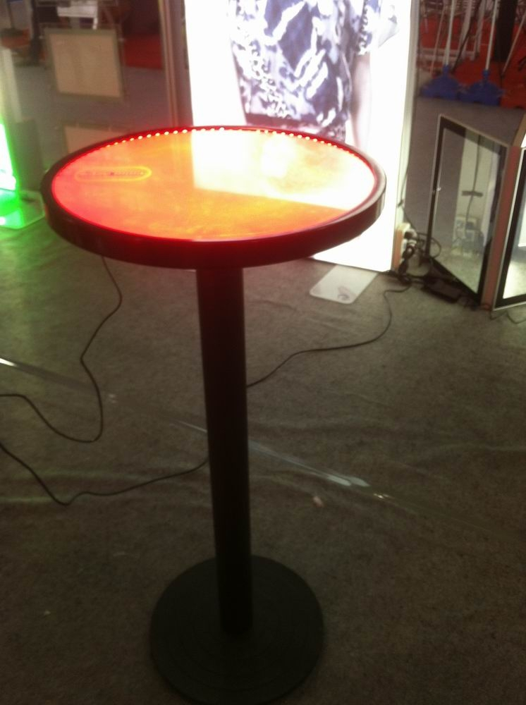 Edgelight led bar table poker table new products 2016