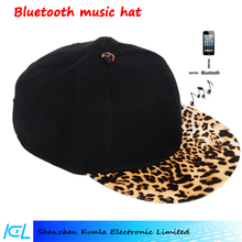 China Fashion Wireless Bluetooth Baseball Cap/ Blutooth Hat with Headphone