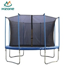Mzone 366cm kids garden spring folding 12ft trampoline with inside net