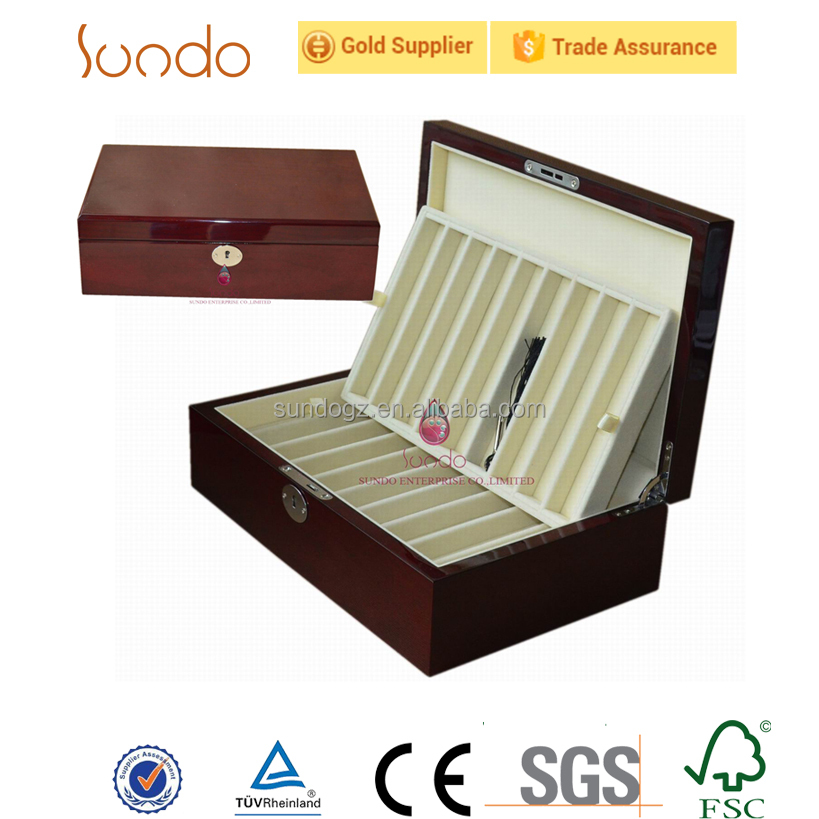 beautiful wooden pen display case with professional manufacture