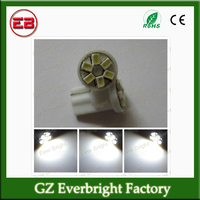 Long-lasting T10 1206 6SMD LED light bulb interior lamps for all cars