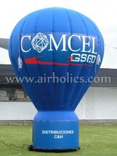 Giant Inflatable ground Balloon, Outdoor decoration Inflatable advertising cold air big balloon H3198