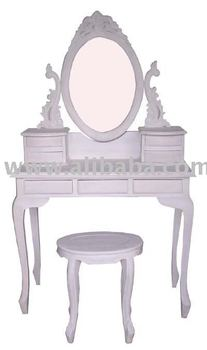 French white dressing table stool buy french dressing for French white dressing table