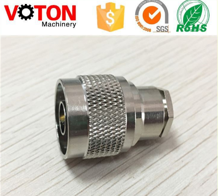 free samples Wire Terminal Coaxial Cable Copper Alloy N Male Straight Crimp Connector for Lmr400