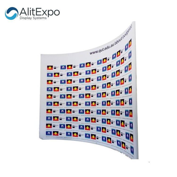 Wholesale tension fabric CMYK printing free standing backdrops