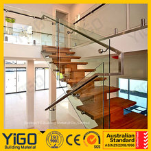 Brand new external banister with Glass certificate